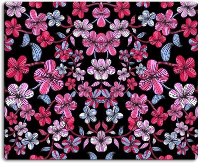ATULIT Floral pattern Mousepad| Designer Mousepad | Printed-68 Mousepad(Multicolor)