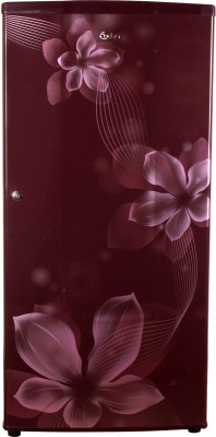 LG 185 L Direct Cool Single Door 2 Star Refrigerator(Maroon, GL-B181RSOV) at flipkart