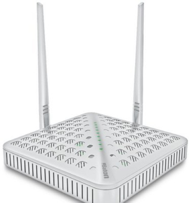 iBall baton High Power Wireless N 300 Mbps Router White, Single Band