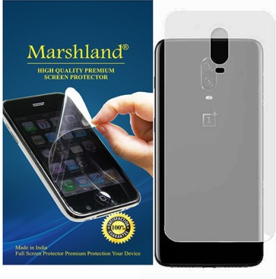 Marshland Back Screen Guard for Protector Flexible Anti Scratch Oleo Phobic Coating Anti Glare Matte Finish, OnePlus 6T(Pack of 1)