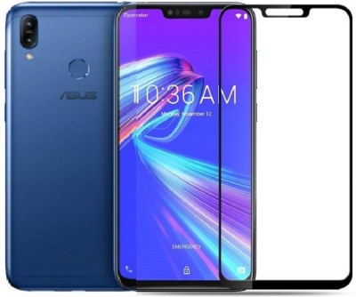 Classy Edge To Edge Tempered Glass for asus zenfone max m2 tempered glass full glue black, asus zenfone max m2 tempered glass(Pack of 1)