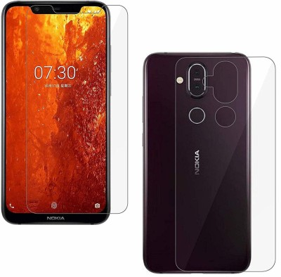 Praksh Front and Back Screen Guard for Screen Guard Unbreakable (Front & Back) for Nokia 8.1(Pack of 1)