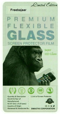 Nine h Tempered Glass Guard for Lava Iris X1 Atom(Pack of 1)