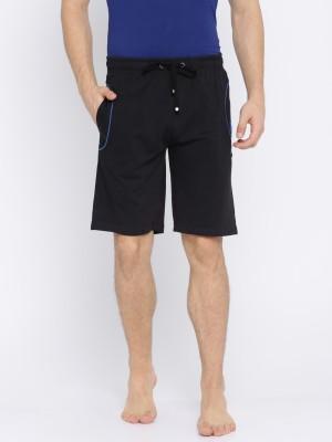 U.S. Polo Assn. Solid Men Black Night Shorts