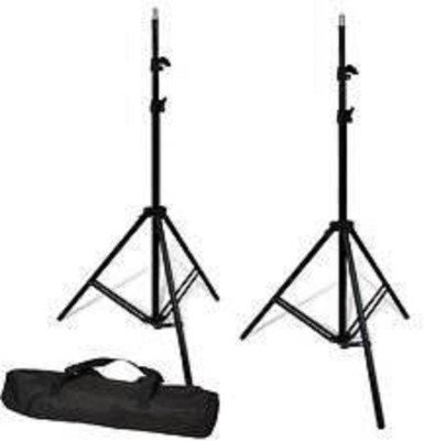 priyam Portable Foldable Umbrella Flash Light Photography Stand with Carry Bag Tripod(Black, Supports Up to 145 g) 1