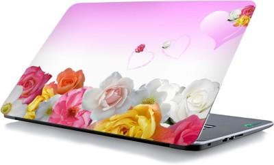 RADANYA Flower Love Laptop Skin 1860 Vinyl Laptop Decal 15.6