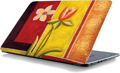 RADANYA Flower Paint Laptop Skin 1422 Vinyl Laptop Decal 15.6