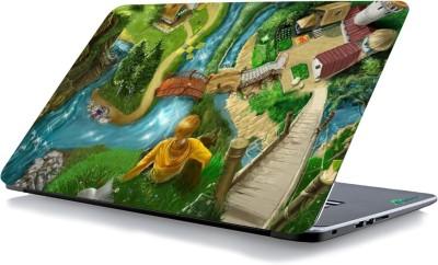 RADANYA Painted Colorful Laptop Skin 21124 Vinyl Laptop Decal 15.6