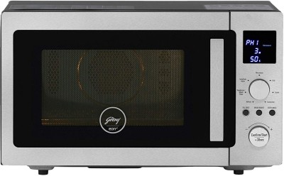 Godrej 28 L Convection Microwave Oven  (GME 528 CIP1 QM, Silver)