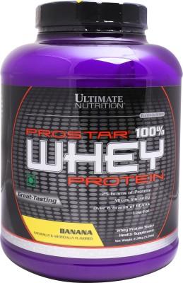 Ultimate Nutrition Prostar 100% Whey Protein(2.39 kg, Banana)