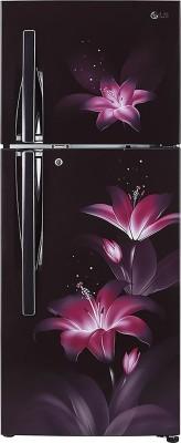 LG 284 L Frost Free Double Door 2 Star Convertible Refrigerator Purple Glow, GL T302RPGU LG Refrigerators