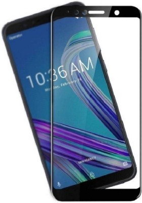 Classy Edge To Edge Tempered Glass for Asus Zenfone Max Pro M1, asus zenfone max pro m1 tempered glass full glue black(Pack of 1)