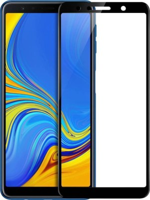 MOBTEMPER Edge To Edge Tempered Glass for Samsung Galaxy A7 2018 Edition(Pack of 1)