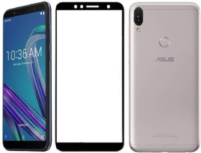 Classy Edge To Edge Tempered Glass for Asus ZenFone Max M1, asus zenfone max m1 tempered glass full glue black(Pack of 1)