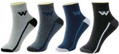 YOUR SHOPPING STORE Men Color Block Ankle Length(Pack of 6)