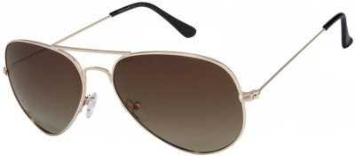 Vincent Chase Aviator Sunglasses(Grey)