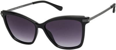 Vincent Chase Cat-eye Sunglasses(Grey)
