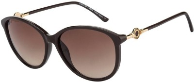 Vincent Chase Aviator Sunglasses(Golden)