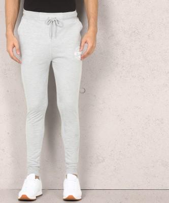 Metronaut Solid Men Grey Track Pants