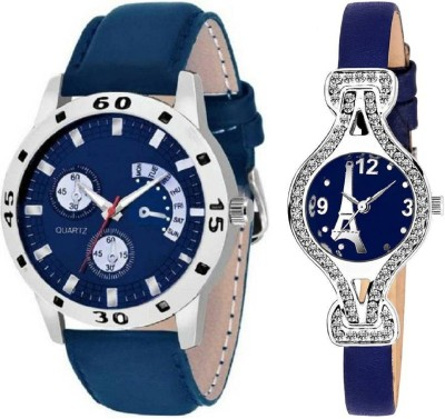 True Colors 96127-New Stylish Beloved Couple Watches for Men and Women Analog Watch  - For Couple