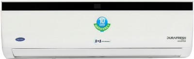View Carrier 1 Ton 5 Star Split Inverter AC  - White, Black(Durafresh Neo X ( HYB) CAI12DN5R39F0, Copper Condenser) Price Online(Carrier)