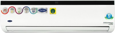 View Carrier 1.5 Ton 3 Star Split Inverter AC  - White, Black(Durafresh Neo X (NON HYB) CAI18DN3R39F0, Copper Condenser) Price Online(Carrier)