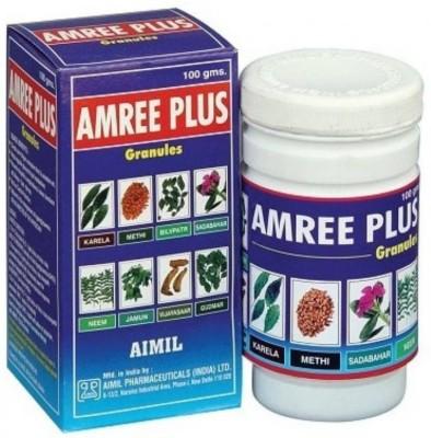 Aimil Amree Plus Granules, Type 2 Diabetes Ayurvedic Medicine Powder(100 g)
