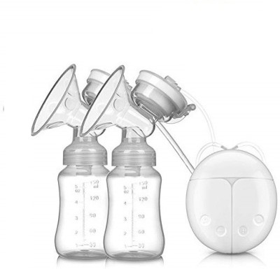 BabyGo Automatic Electric BPA-Free Double Breast Pump with Dual Mode (White)  - Electric(White)