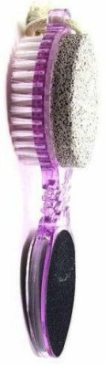 Nuestra 4 In 1 Foot File With Pedicure And Manicure Brush(Multicolor)