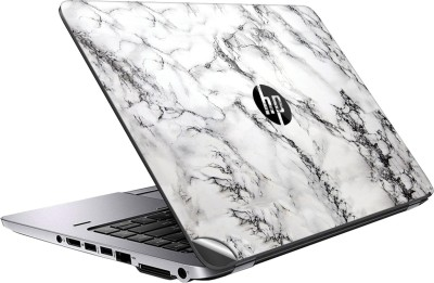 GADGETS WRAP GWSF-4490 Printed Top Only white marble Vinyl Laptop Decal 14