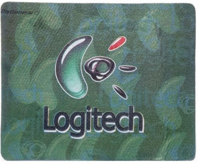 Logitech Mouse Pad (24x18CM)-green Mousepad(Green)