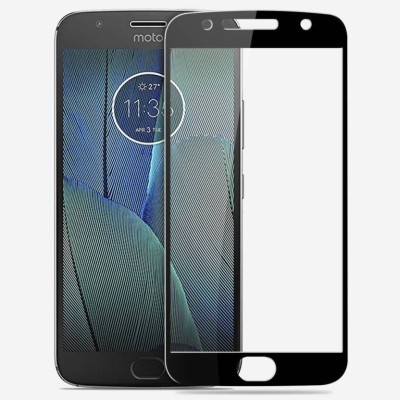 CellRize Edge To Edge Tempered Glass for Motorola Moto G5s(Pack of 1)