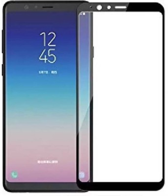 Kuber Edge To Edge Tempered Glass for Samsung galaxy A8 Star(Pack of 1)