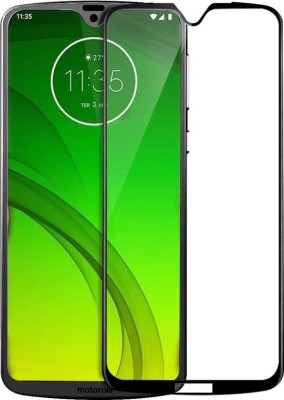 Snatchy Edge To Edge Tempered Glass for Motorola Moto G7(Pack of 1)