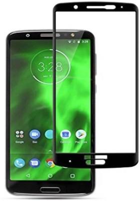 KMP POWER Edge To Edge Tempered Glass for Motorola Moto G6 Plus(Pack of 1)