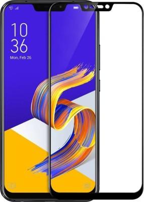 S-Softline Edge To Edge Tempered Glass for Asus Zenfone 5Z (Premium 6D 9H Full Glue)(Pack of 1)