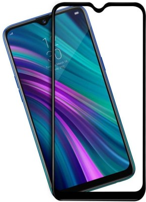 Karpine Edge To Edge Tempered Glass for Realme 3 Pro(Pack of 1)