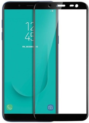 Splash Tempered Glass Guard for Samsung Galaxy J6(Pack of 1)