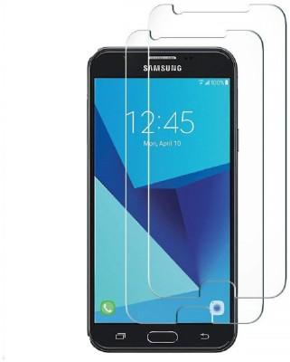 Spinzzy Tempered Glass Guard for Samsung J7 V/J7 Perx/J7 Sky Pro/J7 2017(Pack of 2)