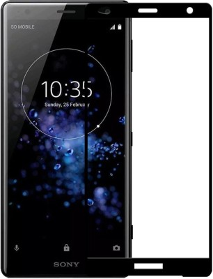 A-Allin1 Tempered Glass Guard for S-Softline Premium 3D Tempered Glass for Sony Xperia Xz2(Pack of 1)