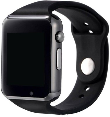 PIXIR Phone Bluetooth Wrist Smartwatch(Black Strap, Free)