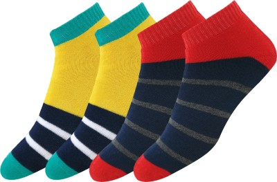 Maanja Men Striped Ankle Length(Pack of 2)