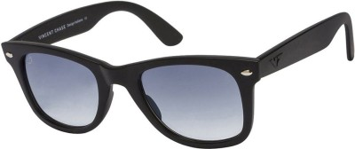 Vincent Chase Oval Sunglasses(Grey)