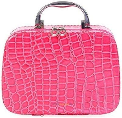 Seaspirit Light Wight cosmetics bag and storage vanity bag , makeup mirror (PINK ) All Vanity Box cosmetics ,storage,jewelry,utility,makeup kit, vanity bag,Travel toiletry kit Vanity Box(Pink)