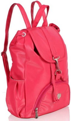 DON'T LOOK PINK PITU 5 L Backpack Pink DON'T LOOK Backpack Handbags