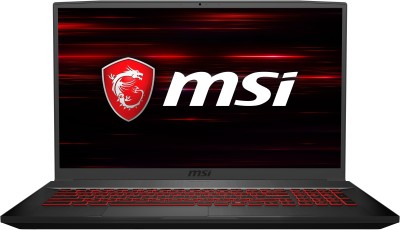 Image of MSI GF75 Core i7 9th Gen Gaming Laptop which is one of the best laptops under 80000