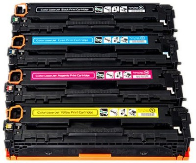 Printwell CRG-116/316 / 716 Toner Cartridge Compatible with Canon LBP 5050 / 5050n / imageCLASS MF8030Cn / MF8040Cn / MF8050Cn Printer (Black, Cyan, Magenta, Yellow) Tri-Color Ink Toner Powder