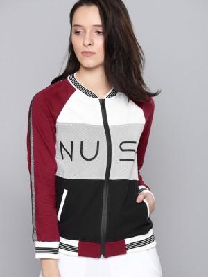 NUSH Full Sleeve Solid Women Jacket