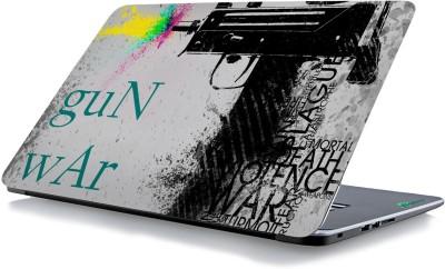 RADANYA Gun War Laptop Skin 67188 Vinyl Laptop Decal 15.6