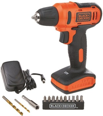 Black & Decker LD12SP-IN Pistol Grip Drill (10 mm Chuck Size)